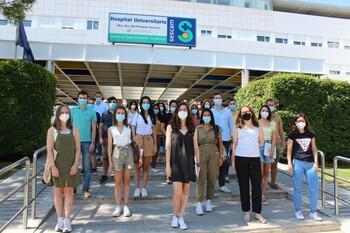 La GAI de Albacete recibe a los nuevos residentes