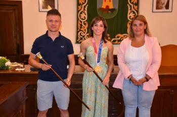 Talavera aplaude la gesta olímpica de Sandra Sánchez