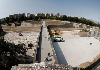 El G. P. de las Murallas reúne a 300 jinetes en Pamplona