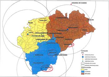 El PSOE propone una red de parques de bomberos