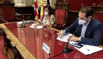 Unión institucional para recuperar las riberas del Carrión