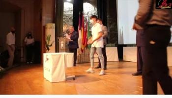 Hugo González, galardonado en la Gala Regional