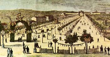 Las más antiguas farolas de Valladolid