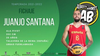 Juanjo Santana llega al Albacete Basket