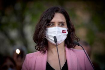 Ayuso acusa al PSOE de abrir
