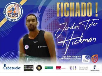 Jordan Hickman reforzará al Socuéllamos