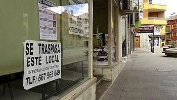 Muchos comercios han cerrado durante el año pasado.