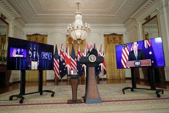 EEUU, Reino Unido y Australia se alían frente a China