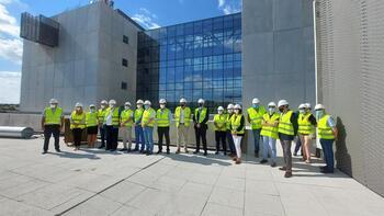La obra del hospital llega al 90% en la infraestructura