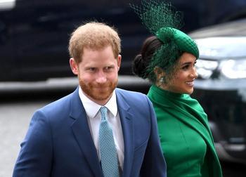 Los duques de Sussex se desvinculan de la familia real