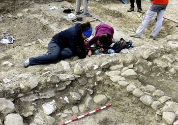 Descubren una ciudad romana ortogonal y ocupada en Belorado