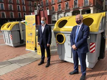 Valladolid incorpora el contenedor amarillo para envases