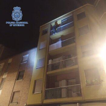 Detenido mientras robaba en una vivienda de Logroño