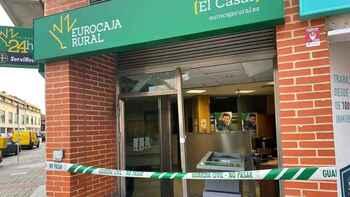 Intentan robo por alunizaje en una oficina de Eurocaja Rural
