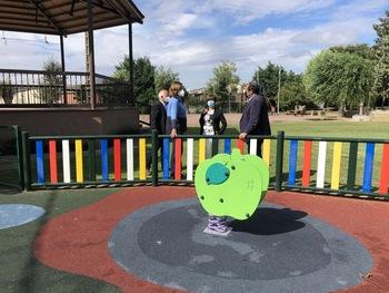 Mejora de espacios públicos en Bustillo de la Vega