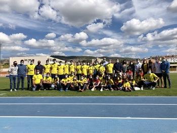 Rotundo éxito del Campeonato de España de Atletismo Sub16