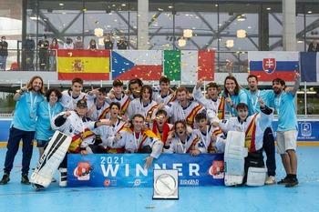 Dani Benito se proclama campeón de Europa con España