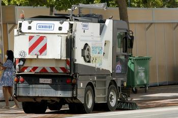 Un operativo especial refuerza la limpieza