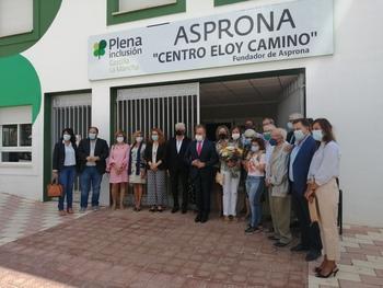 Eloy Camino ya da nombre al centro ocupacional de Asprona