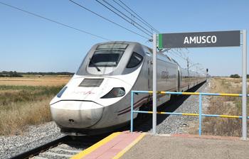 Adif invierte 77 millones en el tramo Palencia Norte-Amusco