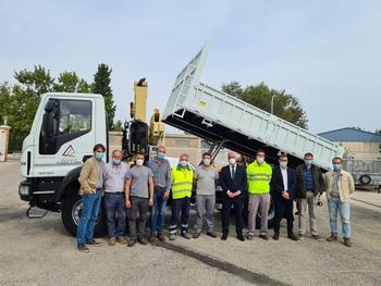 La Diputación incorpora dos nuevos camiones a su flota