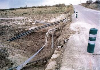 La Diputación invierte en el arreglo de la carretera GU-249