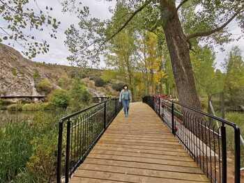 Mejoras en las pasarelas peatonales del río Duero en Soria
