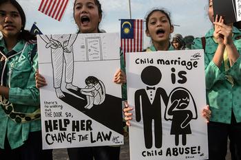 El matrimonio infantil mata a más de 60 niñas al día