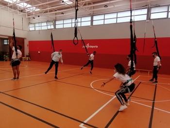 Bungee Workout, ejercicio y diversión en Logroño Deporte