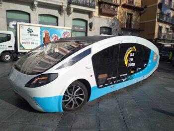 Toledo recibe un prototipo de caravana solar