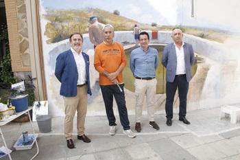 Aldea del Rey fomenta el arte urbano e inclusivo
