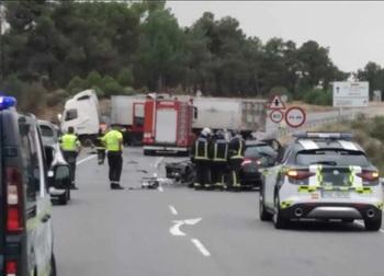 Dos fallecidos y tres heridos tras la colisión en Segovia