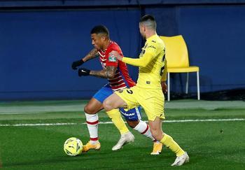 Villarreal y Granada se reparten los puntos