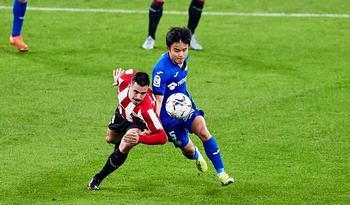 El Athletic golea y corta la progresión del Getafe