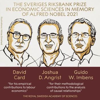 Nobel de Economía a Card, Angrist e Imbens