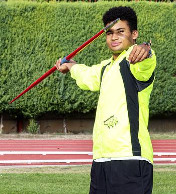 Darío Sina fue cuarto en Francia