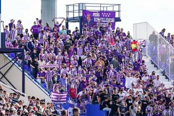 600 aficionados blanquivioleta estarán en El Molinón