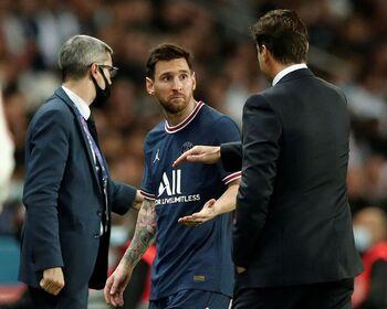 El PSG comunica una lesión de Messi
