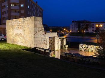 Iluminación de la ermita de la Virgen de las Aguas