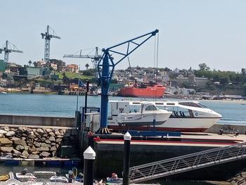 El barco varado de 344.850 euros