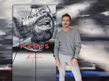 Jesús Calzada inaugura su primera exposición en París
