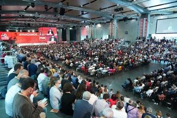 Peña entra en la Comisión Electoral del congreso del PSOE