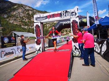Luis Ángel Tejedor, campeón de España de Trail Running M45