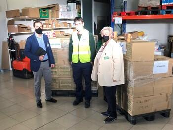 Mercadona hace una gran donación al Banco de Alimentos