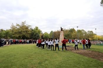 Los Salesianos inauguran el parque Don Bosco