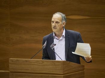 EH Bildu exige detener las obras de Aroztegia
