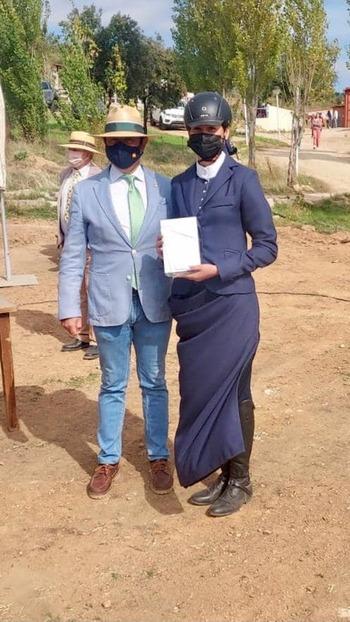 La amazona Clara Guerrero continúa cosechando éxitos