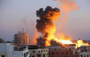 Israel alcanza instalaciones de Hamás en Gaza