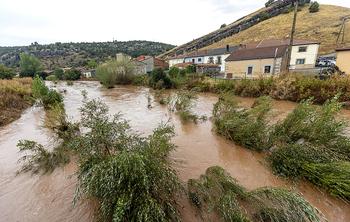 La CHD actuará para que el río Lobos «respire» en Hontoria