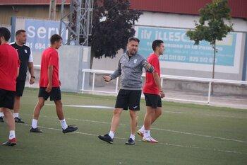 Pablo Nozal pide paciencia con el nuevo CD Illescas
